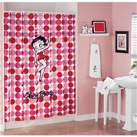 betty boop bath set betty the boop shower curtain cool stuff to buy and collect