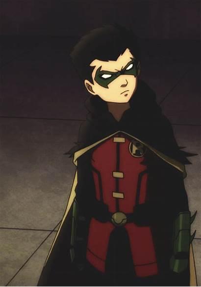 Robin Damian Wayne Batman Son Dc Batgirl
