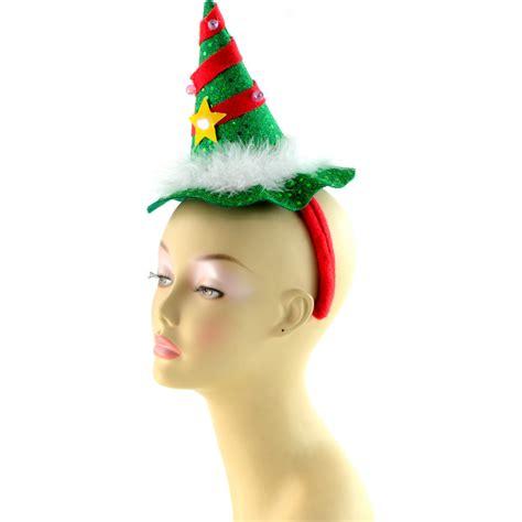 light up star headband light up christmas tree headband 25292gnaj