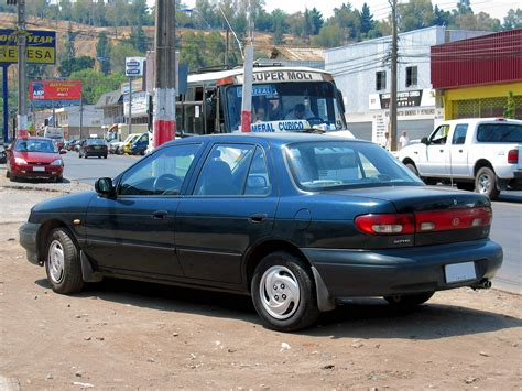 96 Kia Sephia 1996 kia sephia gs sedan 1 8l manual