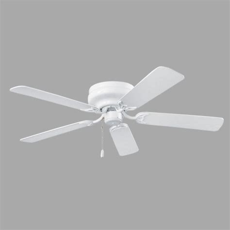 home depot hugger ceiling fans nutone hugger series 52 in indoor white ceiling fan