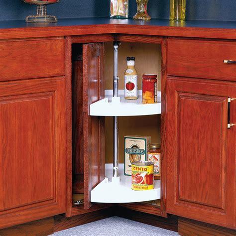 lazy susan for kitchen cabinets shop knape vogt 2 tier plastic pie cut cabinet lazy 8923