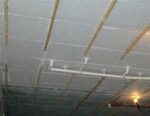 Isoler Un Sol Froid : isoler le plafond du sous sol le meilleur isolant ~ Premium-room.com Idées de Décoration