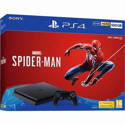 Ps4 Spider Playstation Bundle Marvel Gb Sony