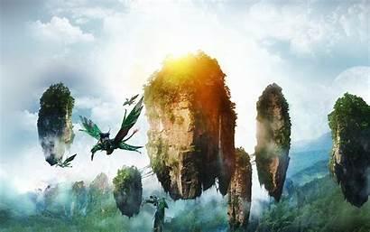 Avatar Pandora Wallpapers Island Floating Flying Flight