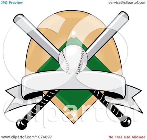 Easter egg hunt svg collection. Clipart Baseball Bat Banner Field And Ball Logo 3 ...