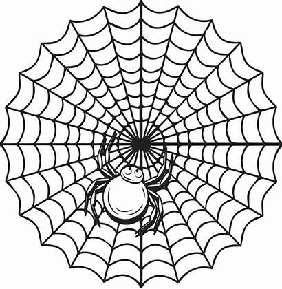 Spider Coloring Halloween Printable Web Pages Grade