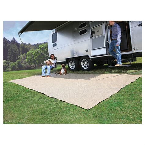 rv patio rug canada 7 x15 premium rv awning mat 425527 rv outdoor