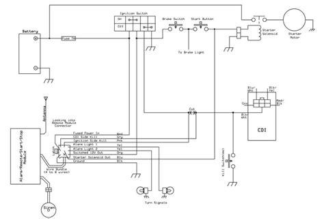 Wiring Diagram Gio 110 Atv by 110cc Remote Wiring Question Atvconnection Atv