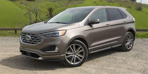 ford edge review fords redesigned midsize suv plays