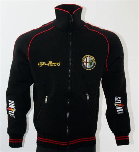 alfa romeo jacke alfa romeo fleece polar jacket embroidered logos coat veste parka mito ebay