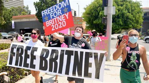 Britney Spears 'Welcomes' #FreeBritney Support   Grazia