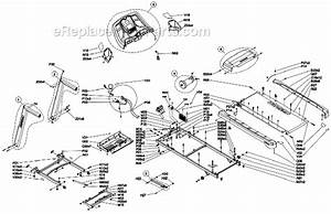 Horizon Fitness T101-04 Parts List And Diagram