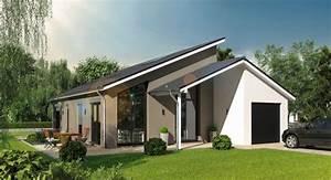 Bungalow Mit Pultdach : bungalow 136 moderner bungalow mit pultdach massivhaus s d ~ Lizthompson.info Haus und Dekorationen