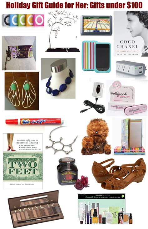 holiday gift guide for her gifts under 100