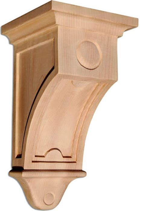 Craftsman Corbel by Mission Large Corbel Cherry Craftsman Corbels By
