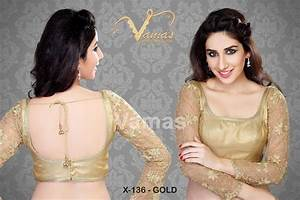 Buy Full Sleeve Embroidered Saree Designer Blouse Blouse