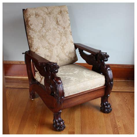 vintage morris chair f3320 mahogany morris chair bogart bremmer bradley 3249