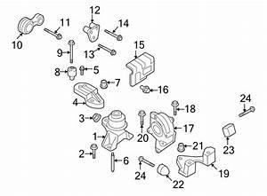 Lincoln Zephyr Engine Mount Bracket  3 0 Liter  Transaxle