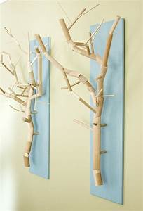branch art design decoration With what kind of paint to use on kitchen cabinets for wood base hurricane candle holders