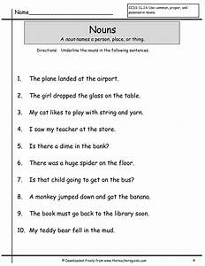 Ideas For Teaching Nouns To First Graders