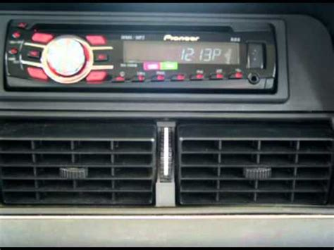 Volvo 240 Radio by Volvo 240 Stereo Installation Upgrade And Speakers