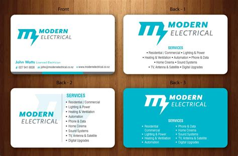 128 Modern Bold Electrician Business Card Designs For A Vistaprint Standard Business Card Size Best Scanner Android Florida Bar Rules Stand Up Holder App Cnet What Is The For Ipad Visiting Design Sample Chartered Accountant