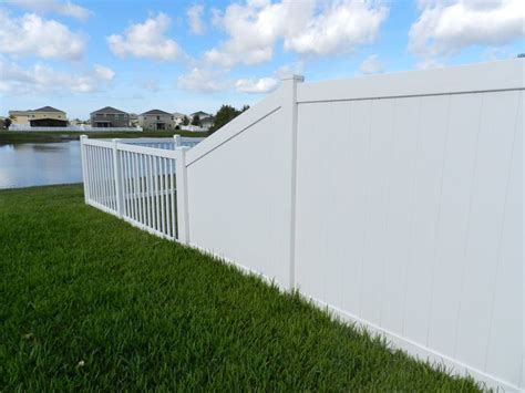 buy upvc solid white fence posts in El Salvador #eco #Low