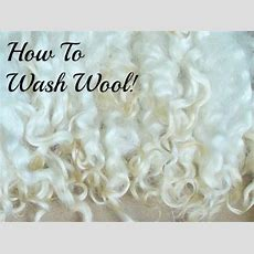 How To Wash Wool & Fiberwithout Felting It