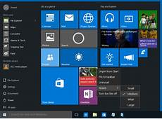 How to customize Start Menu in Windows 10
