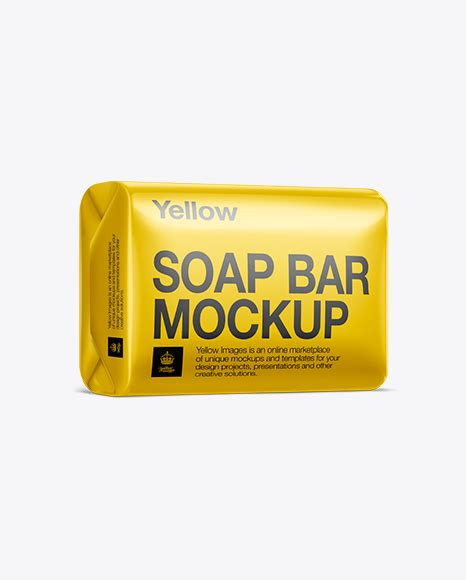 This is the soap bar and paper box mockup shared by original mockups. Soap Bar Mockup in Packaging Mockups on Yellow Images ...