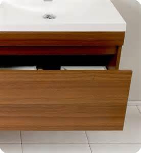 nickel faucets kitchen 57 fresca largo fvn8040tk teak modern bathroom vanity w wavy sinks bathroom
