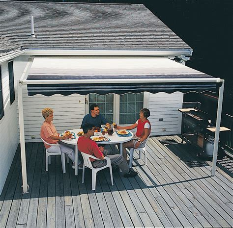 ft sunsetter xt retractable awning outdoor deck patio awnings ebay