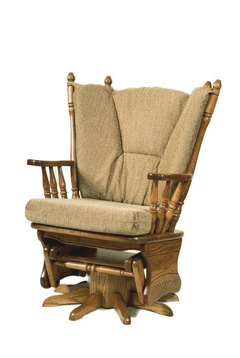 swivel glider rocker peaceful valley amish furniture