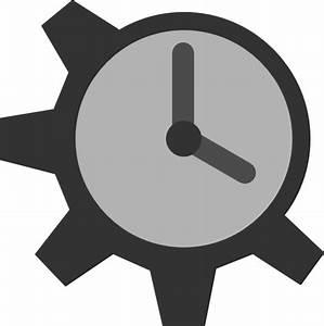 Gear Clock Clip Art at Clker.com - vector clip art online ...