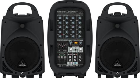 Behringer 500w 6-channel Portable Pa System With Fx And