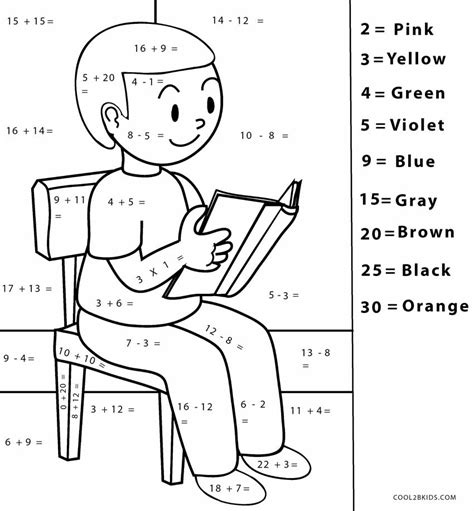 Calculus for beginners and artists. Free Printable Math Coloring Pages For Kids