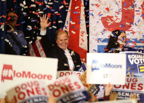 democrat doug jones wins alabama senate race  stunning