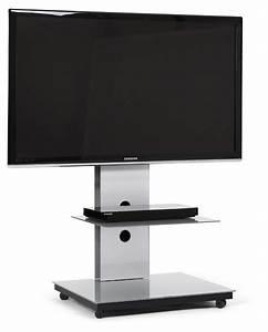 Tv Ständer Design : spectral tray tv st nder mit glasablage online kaufen ~ Indierocktalk.com Haus und Dekorationen