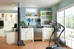 delightful american woodmark cabinets prices decorating With kitchen cabinets lowes with fitness room wall art