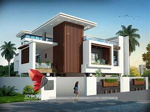 3d Power Provides Quality Bungalow 3d Rendering  Modern