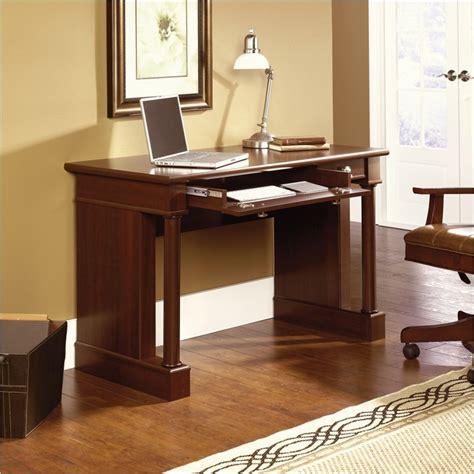 sauder palladia writing desk sauder palladia writing select cherry finish computer desk