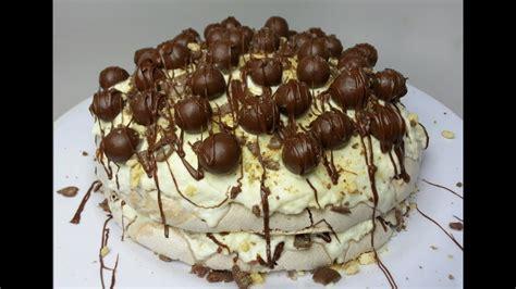resepi mini pavlova coklat