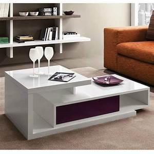 Table Alinea Bois : table basse design mary ~ Teatrodelosmanantiales.com Idées de Décoration