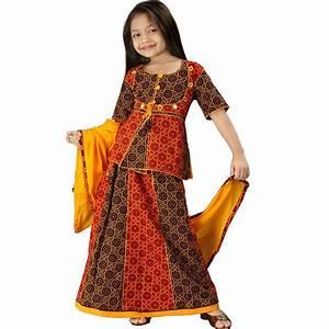 Rajasthani Bandhej Multicolour Lehanga Choli 107A-Online ...