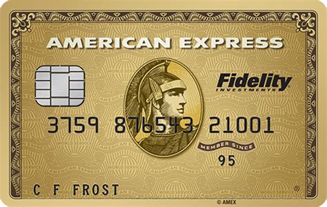 fidelity american express gold card   phased