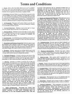 southwest portland post terms and conditions With advertising terms and conditions template