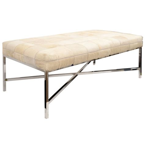 Cowhide Bench by X Jpg