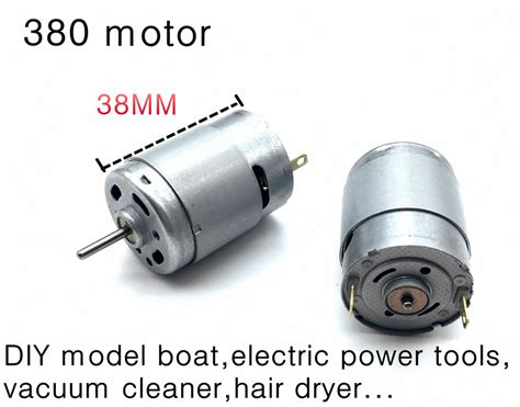 Motor Electric 380 by Rs 380 High Speed Motor Diy Model Boat Electric Power