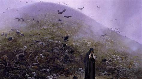 fantasy art ted nasmith silmarillion jrr tolkien grief